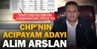 CHP Acıpayam adayı açıklandı ama mevcut başkanların ismi listede yok