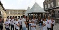 Denizlili çocuklar Diyarbakırı gezdi