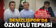 Denizlispor#039;da Özköylü#039;ye büyük tepki