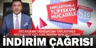 DTO Başkanı Erdoğan: İndirim Kampanyasına sahip çıkmalıyız