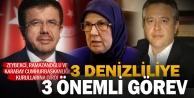 Zeybekci, Ramazanoğlu ve Karabaya önemli görev