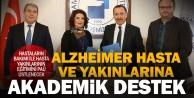 Alzheimer hastalarına üniversite desteği