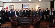 Başkan Osman Zolana ASKONdan ziyaret
