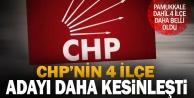 CHP 4 ilçede adaylarını kesinleştirdi