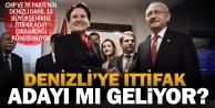 CHP - İYİ Parti Denizlide ittifak adayı çıkaracak iddiası