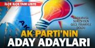 Denizli#039;de Ak Partiye başvuran aday adaylarının tam listesi