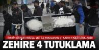 Denizli#039;de uyuşturucuya 4 tutuklama