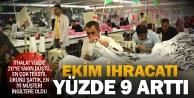 Denizlinin ihracatı yüzde 9 arttı, tekstil yine birinci sırada