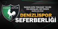 Denizlispor#039;da başkan elini cebine attı