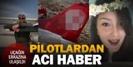 Düşen uçağın enkazı bulundu; Pilot ve öğrencisinden acı haber