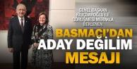 Eski milletvekili Basmacıdan 'Büyükşehire aday değilim mesajı