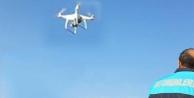 Kaçak avcıya drone'li denetim