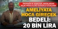 Profesör ile sekreteri bıçak parası#039; aldığı iddiasıyla tutuklandı