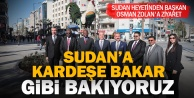 Sudan heyetinden Başkan Osman Zolan#039;a ziyaret