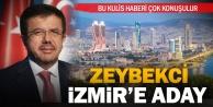 Zeybekci İzmire aday olacak iddiası