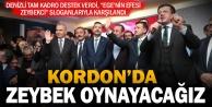Zeybekciye İzmirde miting gibi karşılama