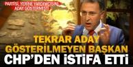 Aday gösterilmeyen Buldan Belediye Başkanı CHPden istifa etti
