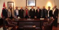 ASKFden Başkan Osman Zolana ziyaret