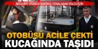 Büyükşehir otobüs şoföründen alkışlanacak hareket
