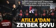 Damat Zeybekci, zeybek performansıyla alkış aldı