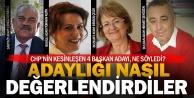 Denizlideki CHPli adaylardan değerlendirme