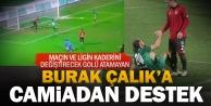 Denizlispor#039;dan Burak Çalık#039;a destek