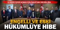 Eski hükümlü ve engellilere İŞKURdan 308 bin lira hibe