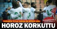Kardemir Karabükspor: 2 - Denizlispor: 3