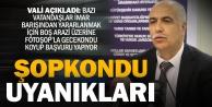Vali Karahan#039;dan, #039;Photoshop#039;lu fotoğrafla imar barışı başvurusu#039; uyarısı