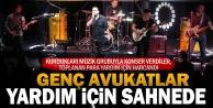 5 avukatın kurduğu müzik grubundan yardım konseri