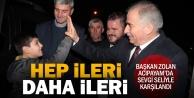 Acıpayam'da Başkan Osman Zolan'a sevgi seli