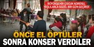Büyükşehir Çocuk Korosu#039;ndan huzurevine ziyaret ve konser