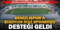 Denizli Atatürk Stadının ismine sponsor eklendi