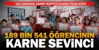 Denizli#039;de öğrencilerin karne hediyesi çam fidanı oldu
