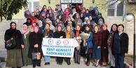 Kadın Meclisinden verem ile savaşa destek
