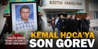 Kemal Hoca, gözyaşlarıyla uğurlandı