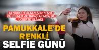 Pamukkale#039;de #039;Müzede Selfie Günü#039; renkli geçti