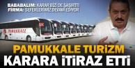 Pamukkale Turizmden iflas kararına itiraz