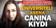 Üniversite öğrencisi genç kız intihar etti