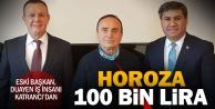 Zafer Katrancıdan Denizlispora 100 bin lira bağış
