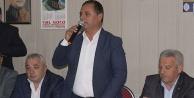 Çal'da Akcan, seçim çalışmasına başladı