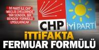 CHP ile İyi Parti meclis üyeliklerinde fermuar formülü uygulayacak