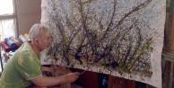 Denizlili ressam Veysel Akşitin 'Esintiler sergisi Denizlide