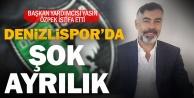 Denizlispor yöneticisi Yasin Özpek istifa etti