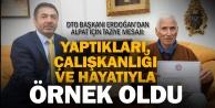 DTO Başkanı Erdoğandan Alpat için taziye mesajı