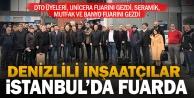 DTOdan UNICERA İstanbul Fuarı#039;na çıkarma