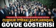 İncilipınar ve Hacıkaplanlar#039;da Cumhur İttifakı#039;na yoğun ilgi