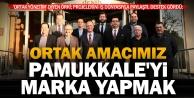 Örki'nin Pamukkale projeleri iş dünyasından destek gördü