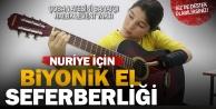 Türkiye; Nuriyeye biyonik el alabilmek için seferber oldu