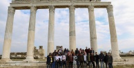 Yabancı öğrencilere antik yolculuk
